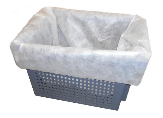 Filtersack mit Entwässerungs-Container