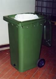 filtersäcke mit entwässerungscontainer mgb240